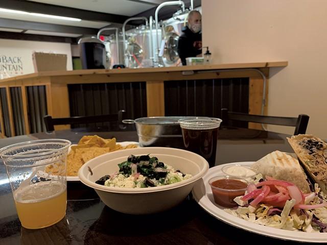 Beer and food at Hogback Brewing - MELISSA PASANEN