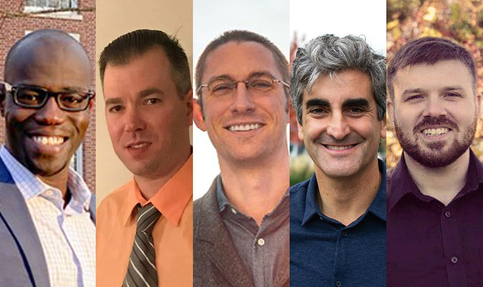 Ali Dieng, Will Emmons, Max Tracy, Miro Weinberger and Patrick White - COURTESY