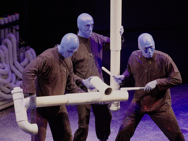 Blue Man Group - COURTESY OF BHURIN SEAD