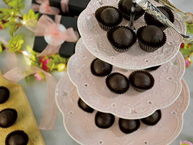 Truffles from Rosie's Confections - COURTESY OF ROSIE'S CONFECTIONS