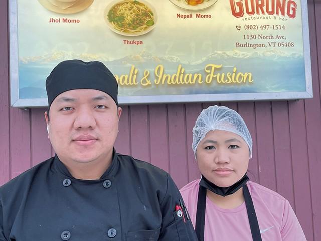 Daddy Gurung and Sita Monger of Gurung Restaurant & Bar - COURTESY OF DADDY GURUNG