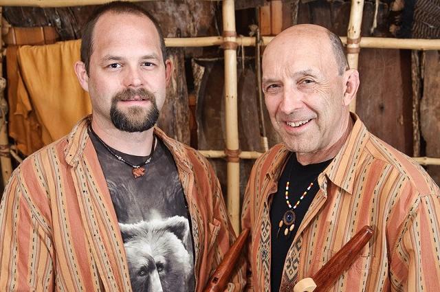 Joseph and Jesse Bruchac - COURTESY OF ERIC JENKS
