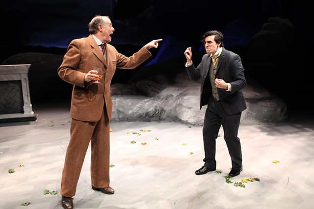 Bill Kux and Jacob Tischler - COURTESY OF NORTHERN STAGE