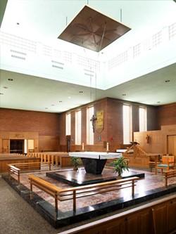 The altar at St. Mark Catholic Parish - CAROLYN BATES