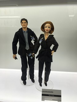 """The X-Files"" Barbies"