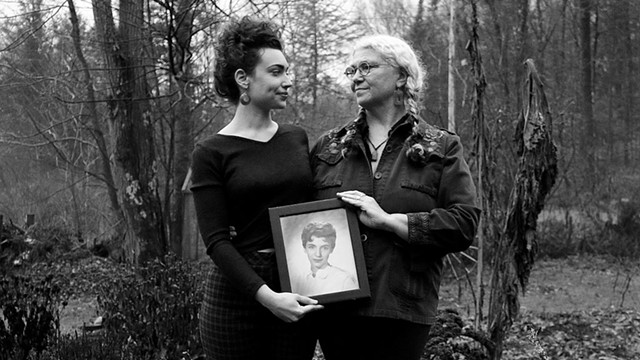 Audrey Tassey Ayer (left) and Peg Tassey - COURTESY OF SAGE HORSEY