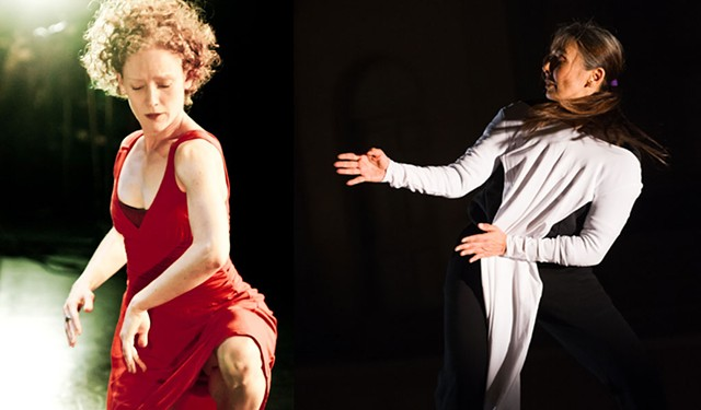 Emily Coates (left) and Emmanuèle Phuon - COURTESY OF PETER GANNUSHKIN & PAULA LOBO