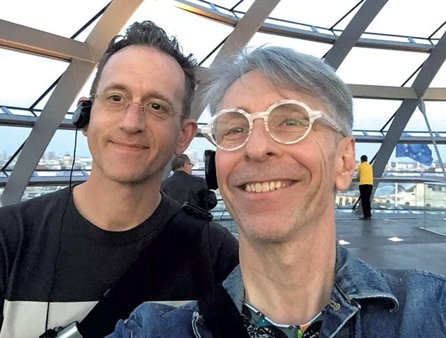 Steven Obranovich (left) and Mike Bosia - COURTESY