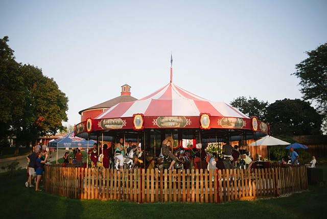 Carousel at Shelburne Museum - COURTESY OF SHELBURNE MUSEUM