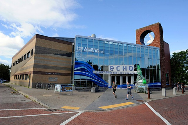 ECHO Leahy Center for Lake Champlain - JEB WALLACE-BRODEUR