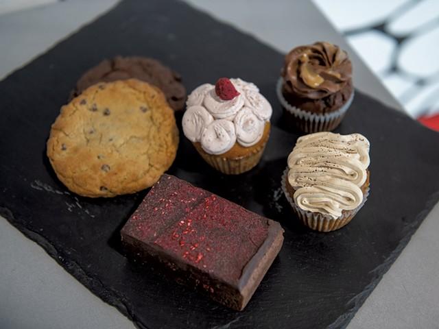 A variety of desserts at Burlington Beer - DARIA BISHOP