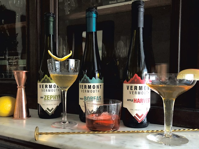 Cocktails made with Vermont Vermouth - JORDAN BARRY