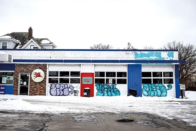 Mobil station on South Winooski Avenue - LUKE AWTRY