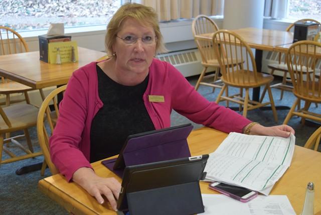 Rep. Carolyn Branagan (R-Georgia). - TERRI HALLENBECK