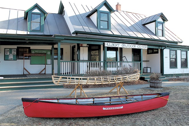 Hand-built canoes at the Wilderness Paddlers Gathering - JULIA SHIPLEY