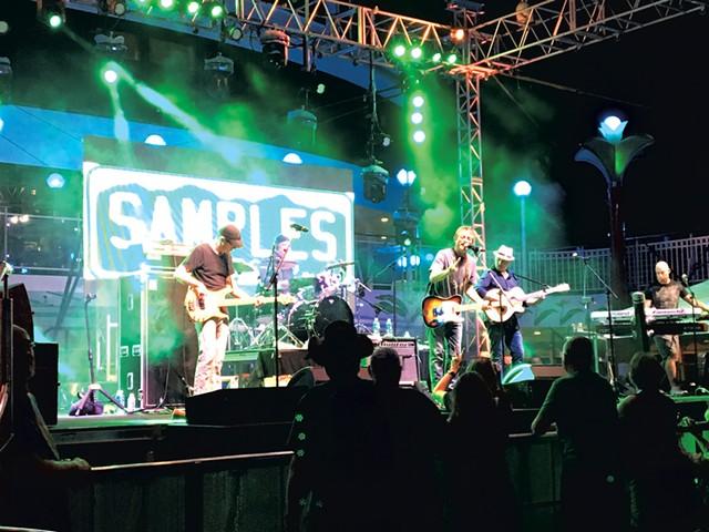 The Samples - DAN BOLLES