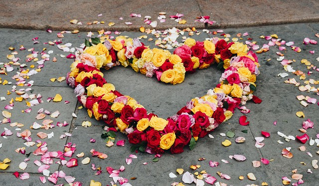 Floral Hearts Project - COURTESY OF ERICA READE IMAGES