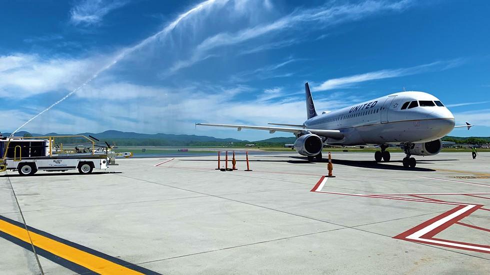 The runway at Burlington International Airport - COURTESY PHOTO