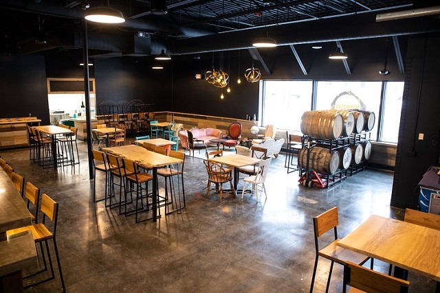 The new Four Quarters Brewing taproom in December - COURTESY OF BRIAN ECKERT