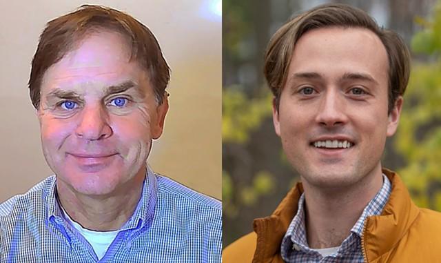 Mark Barlow and Kienan Christianson - COURTESY