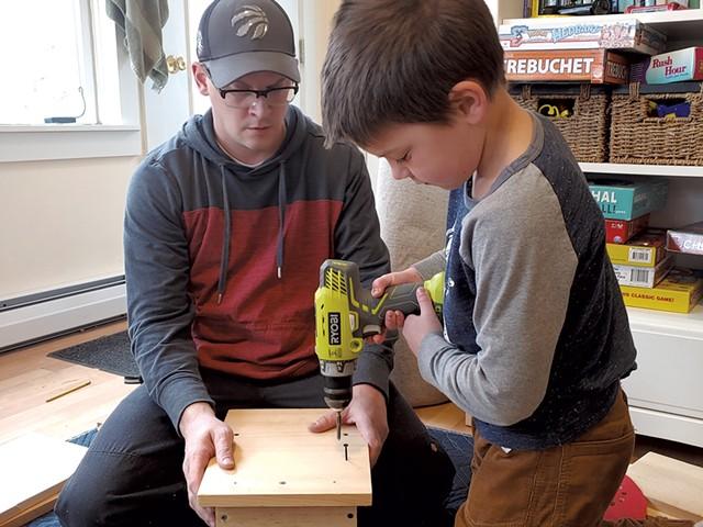 Building a nesting platform - BRIDGET BUTLER