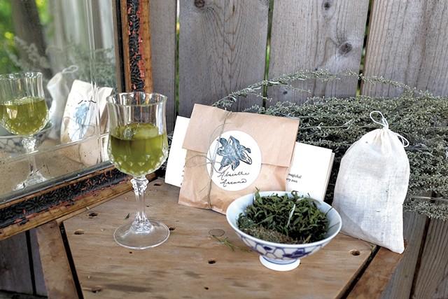 Arcana Botanica's absinthe infusion kit - COURTESY OF IAN HOOD/EMMA MERRITT