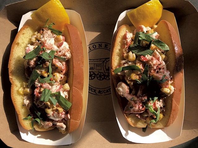 Lobster rolls - COURTESY OF JEAN-LUC MATECAT