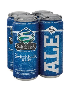 Switchback Ale - COURTESY OF SWITCHBACK BREWING