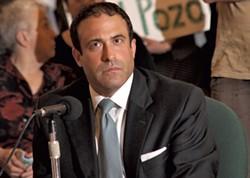Brandon del Pozo at a city council session - FILE: MATTHEW THORSEN