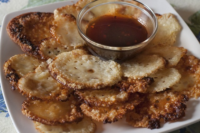 Cheddar, maple, adobo sauce - HANNAH PALMER EGAN