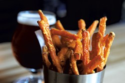 Sweet-potato fries - JEB WALLACE-BRODEUR