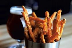 Sweet-potato fries - JEB WALLACE-BRODEUR