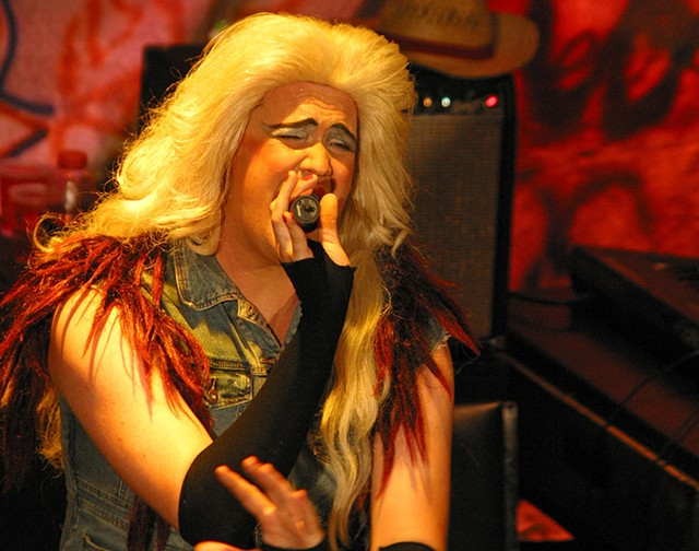 Robert Toms in Hedwig and the Angry Inch