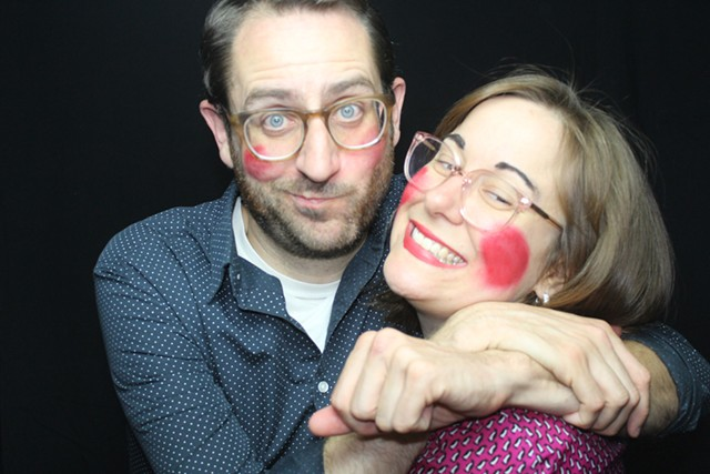 Vermont Comedy Club owners Nathan Hartswick and Natalie Miller - COURTESY OF NATHAN HARTSWICK