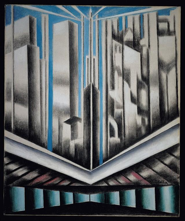 """""""Skyscrapers"""" by Joseph Stella, 1937 - COURTESY"""
