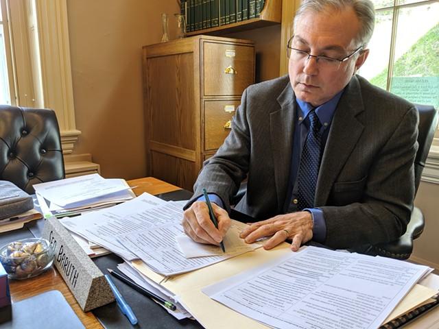 Sen. Phil Baruth, the bill's sponsor - FILE: TAYLOR DOBBS ©️ SEVEN DAYS