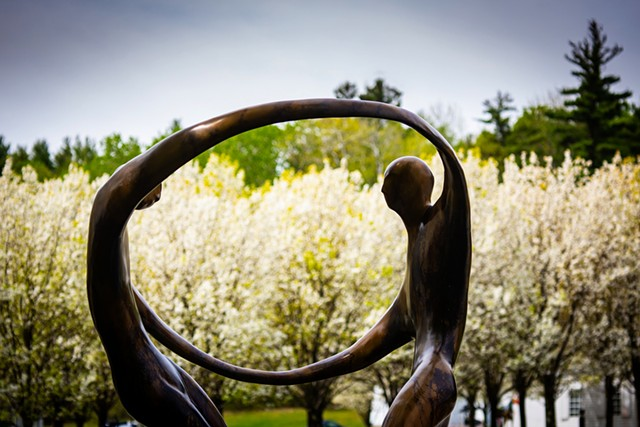 """""""Dance of Love, Dance of Life"""" by Bob Wilfong - COURTESY OF SOUTHERN VERMONT ARTS CENTER"""