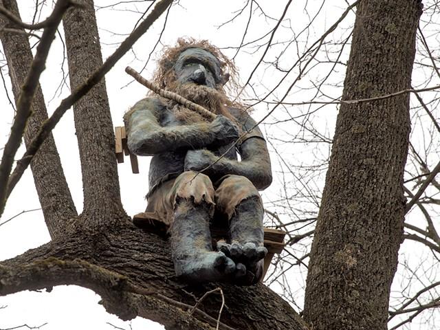 Troll at LaPlatte Nature Park - JAMES BUCK