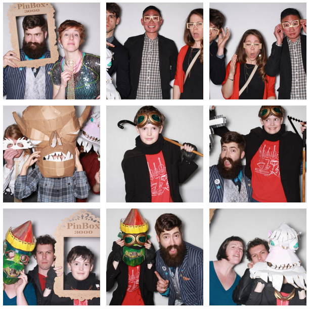 Guests got a kick out of the photo booth. - GENERATOR