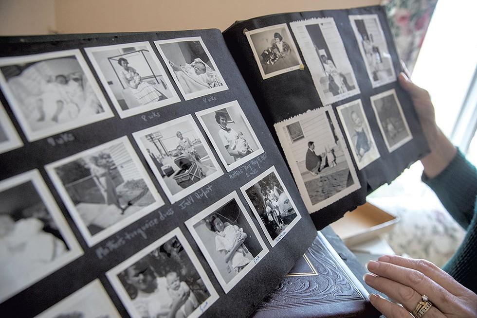 Peters family photos - JAMES BUCK