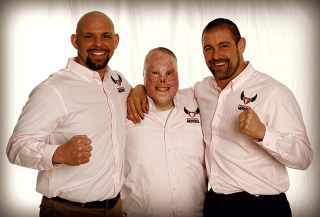 Left to right: Jason Spector, Rick Yarosh and Tom Murphy - COURTESY OF TOM MURPHY