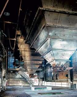 Inside the Moran Plant - COURTESY OF DAN CARDON