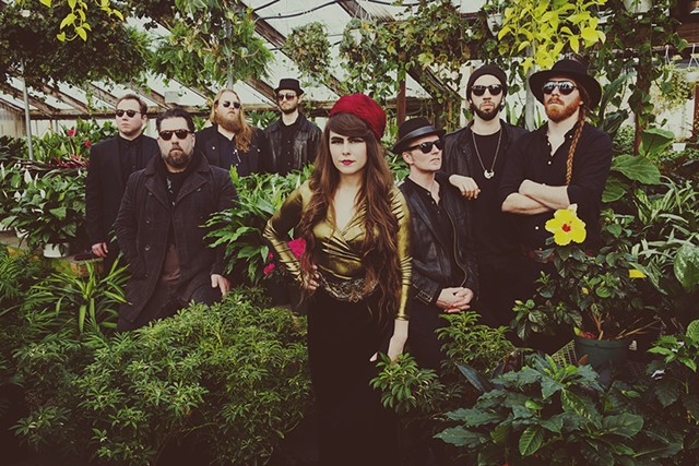Kat Wright and the Indomitable Soul Band - COURTESY OF SHEM ROOSE