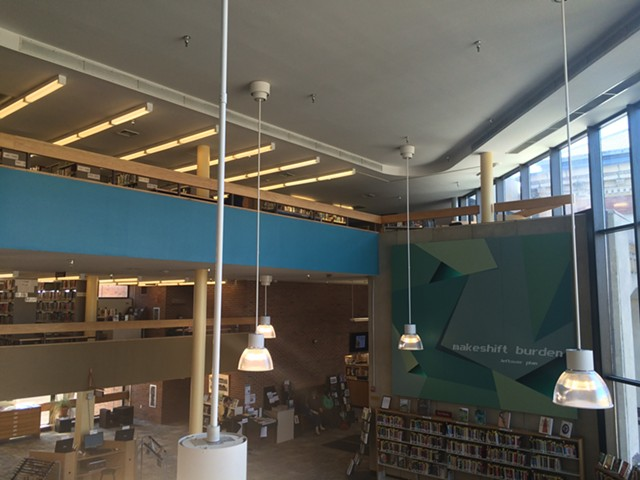 Fletcher Free Library interior - RACHEL JONES