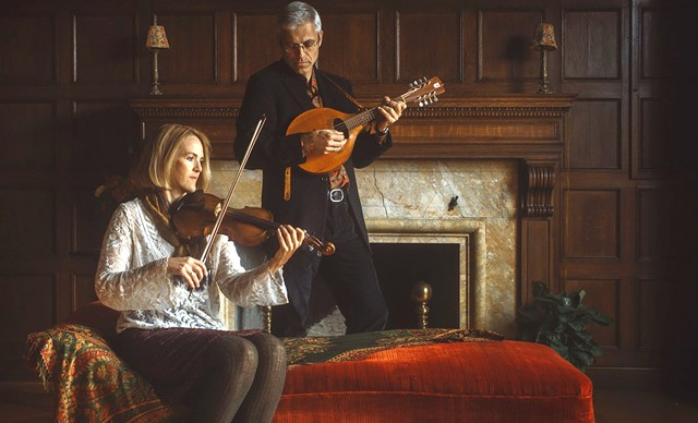 Keith Murphy and Becky Tracy - COURTESY OF BLACK ISLE MUSIC