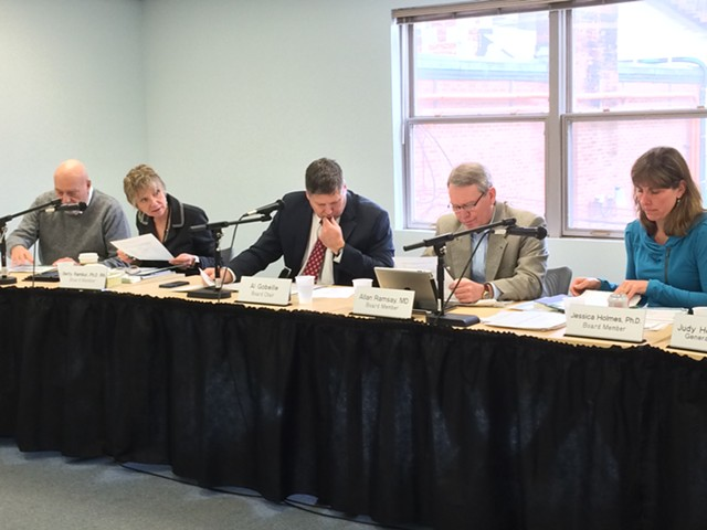 The Green Mountain Care Board discusses how hospitals should deal with excess revenues. - NANCY REMSEN