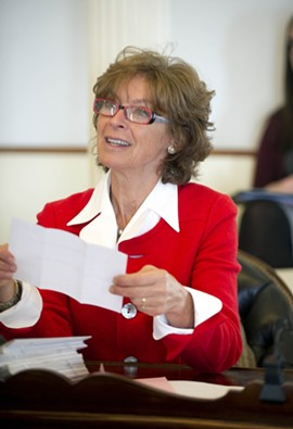 Sen. Claire Ayer - FILE: JEB WALLACE-BRODEUR