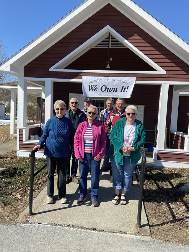 Sterling View Mobile Home Park's cooperative board - JAN KUHN