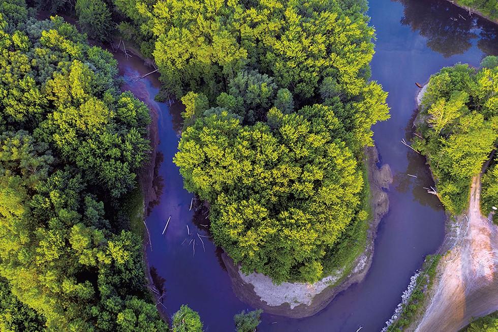 Otter Creek in Middlebury - CALEB KENNA