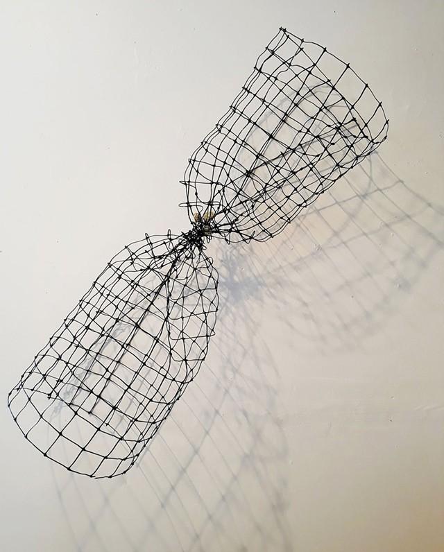 """""""Hourglass"""" by Janet Van Fleet - COURTESY OF JANET VAN FLEET"""